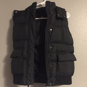GAP Puffer Vest with Removable Hood